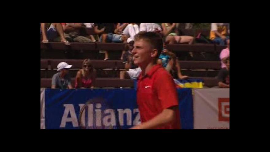 Video Reportáž z tenisovéhoho turnaje Pardubická juniorka