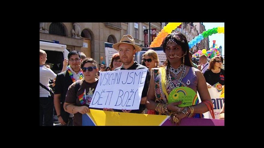 Video Festival Prague Pride zakončil duhový pochod Prahou