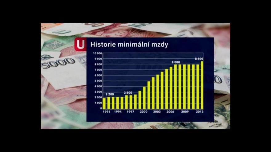 Video Zvýšená minimální mzda může obce potrápit