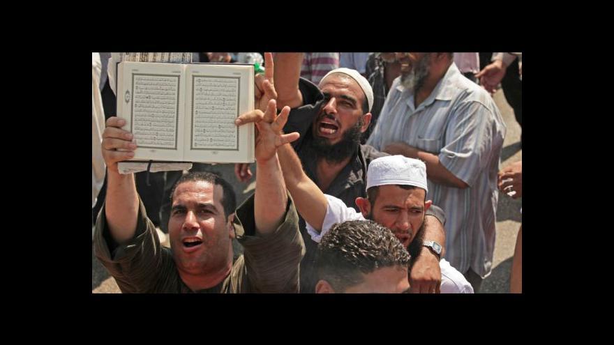 Video Události k situaci v Egyptě