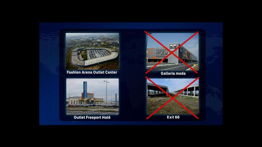 Video Události o outletových centrech