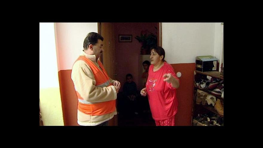 Video Romské hlídky v Jaroměři