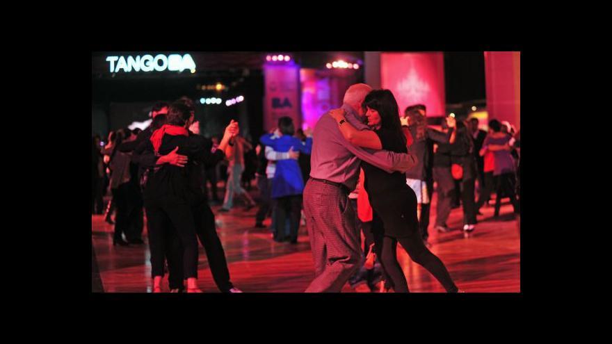 Video V Buenos Aires začal festival tanga