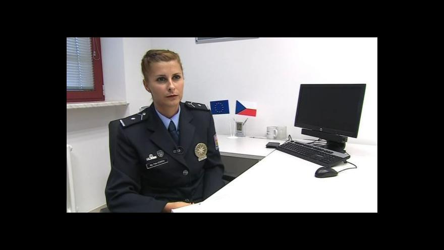 Video O krádežích uměleckých děl hovoří policejní mluvčí Petra Vedrová
