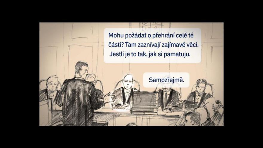 Video Události o výsleších Ivany Salačové