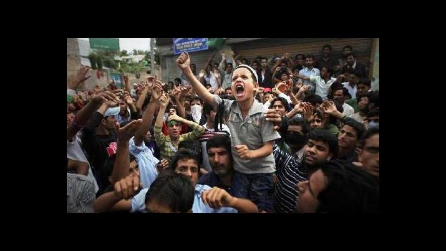 Video Napětí mezi Indií a Pákistánem - nad Kašmírem létají kulky