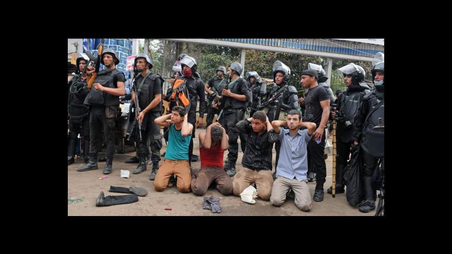 Video Oběti egyptského zásahu jdou do stovek