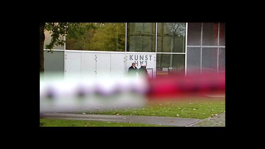 Video Kauza uloupených obrazů z Rotterdamu před soudem