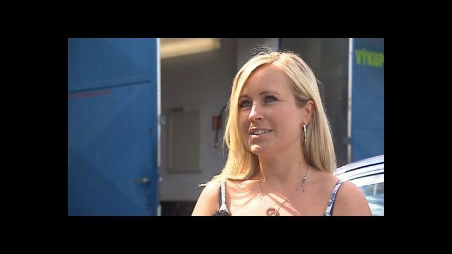 Video O hledání práce mluví absolventka Nikola Salašová