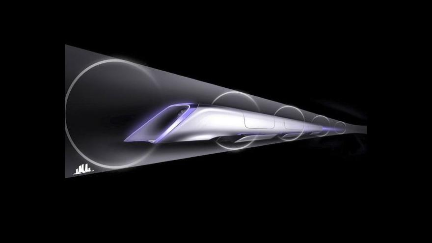 Video Události o projektu Hyperloop