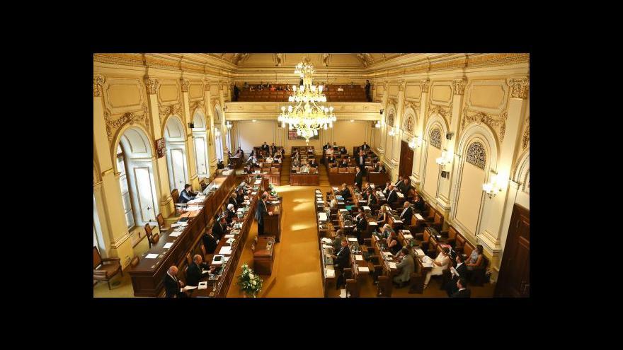 Video Rozpuštění sněmovny tématem Událostí