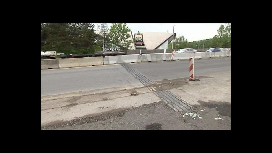 Video Náměstek Karel Deutscher o opravě estakády