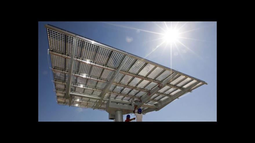 Video Poplatky na obnovitelné zdroje budou zastropovány