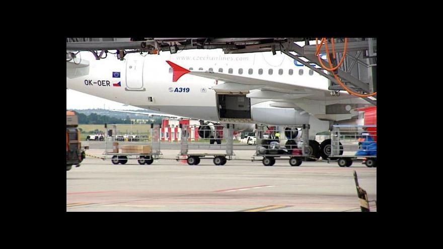 Video Nákladní doprava na Letišti Václava Havla se rozrůstá