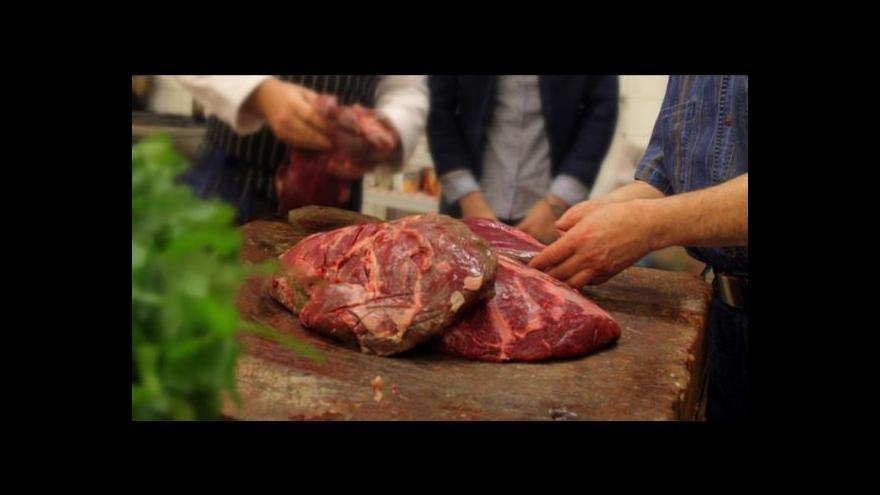 Video Křehčené maso mizí z pultů