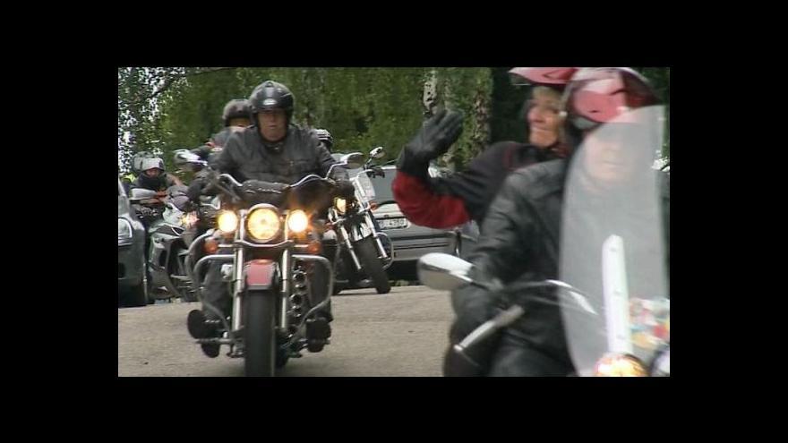 Video Reportáž Josefa Kvasničky o motorkářském srazu