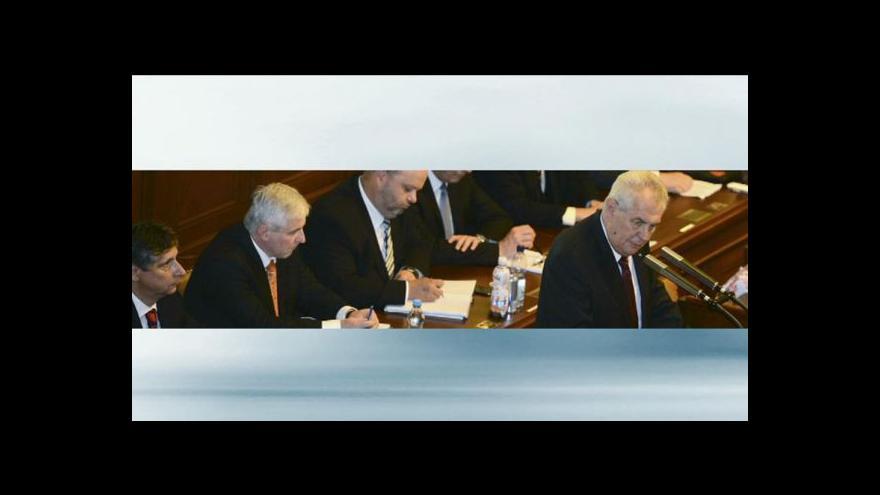 Video Plány vlády v demisi