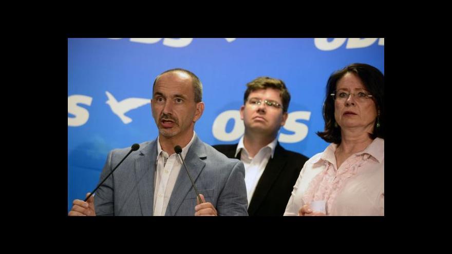 Video Vedení ODS hledá cestu z krize