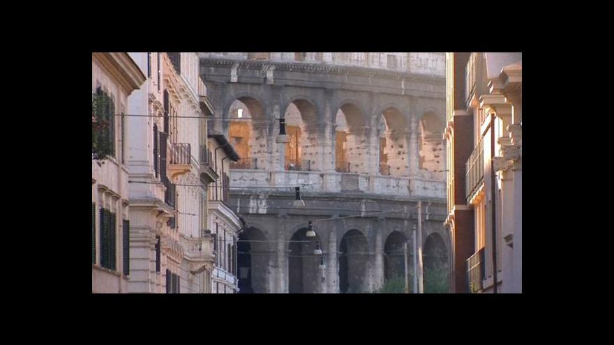 Video Koloseum už netvoří kruhový objezd pro auta