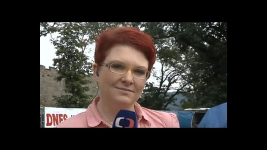 Video Vstup redaktorky Markéty Bočkové ze zahájení festivalu v Brně