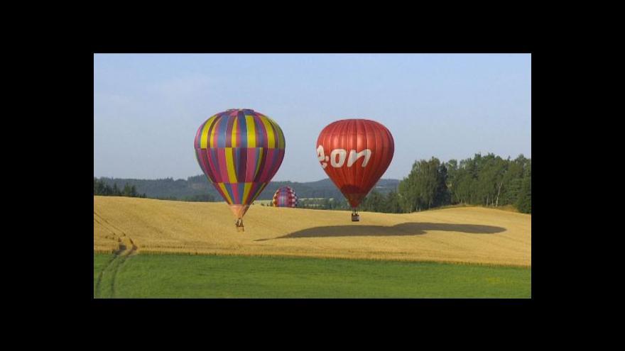 Video Mistrovství v balonovém létání