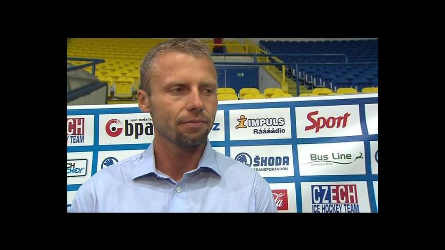 Video Reakce Petra Jakuba a Davida Pastrňáka po utkání