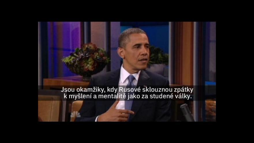 Video Obama nebude mluvit s Putinem