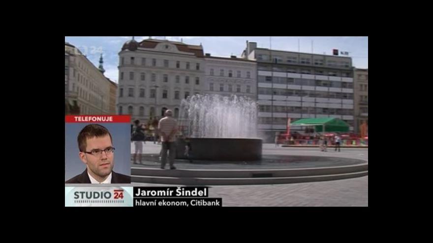 Video Komentář ekonoma Jaromíra Šindela