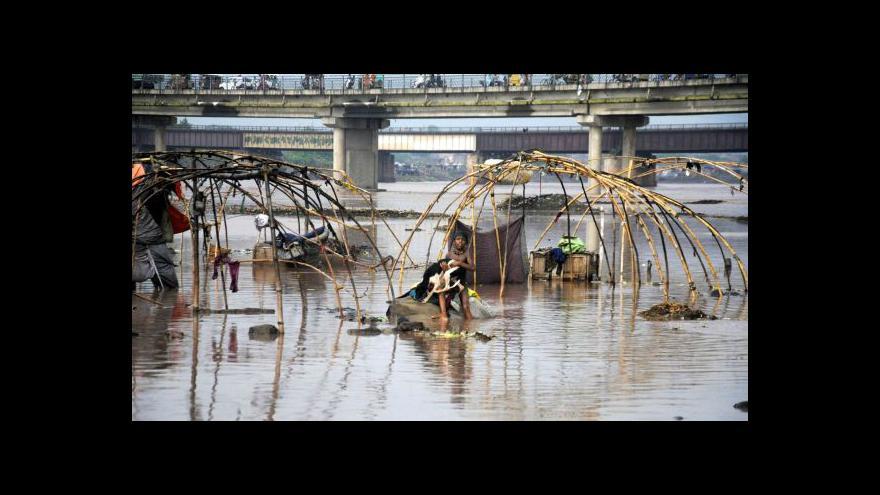 Video Záplavy v Pákistánu a Afghánistánu