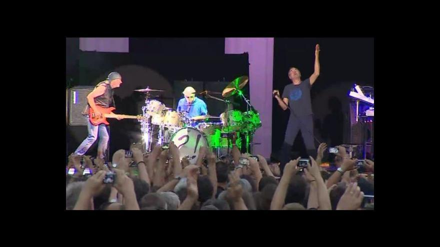 Video Koncert Deep Purple ve Slavkově u Brna