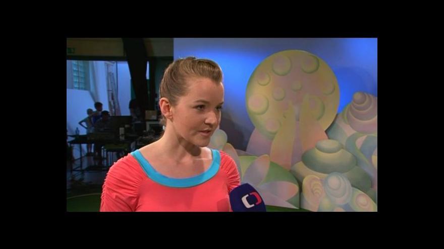 Video Cvičitelka Kristýna Nečasová o pořadu Jogínci