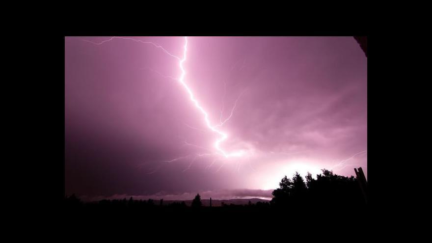Video Téma bouřky v UVR