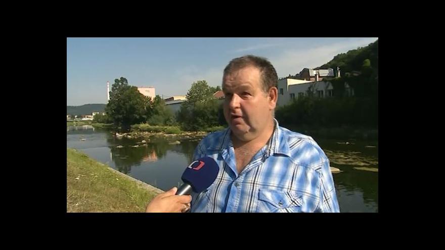 Video Hovoří hospodář rybářského svazu Vsetín Zdeněk Žáček