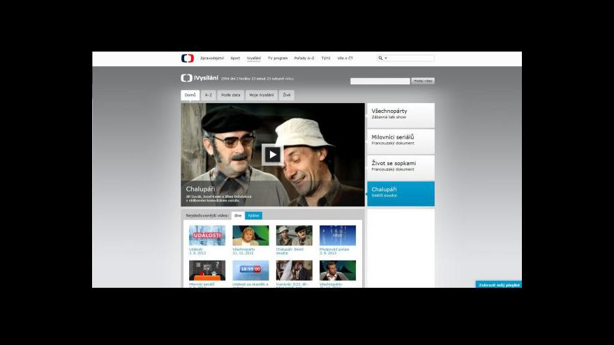 Video Pavlína Kvapilová o novinkách v iVysílání