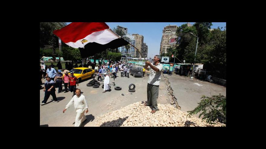 Video Šéf egyptské armády se sešel s islamistickými předáky