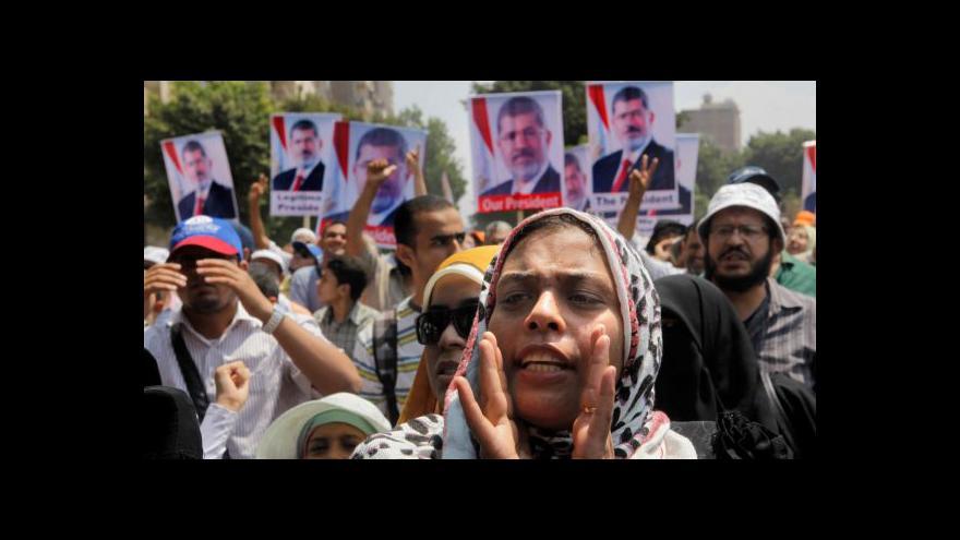 Video Události o situaci v Egyptě