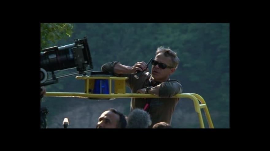 Video Filip Renč o natáčení na přehradě