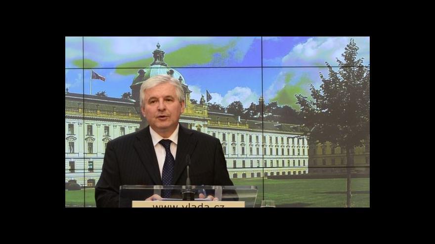 Video TK po schválení programového prohlášení vlády