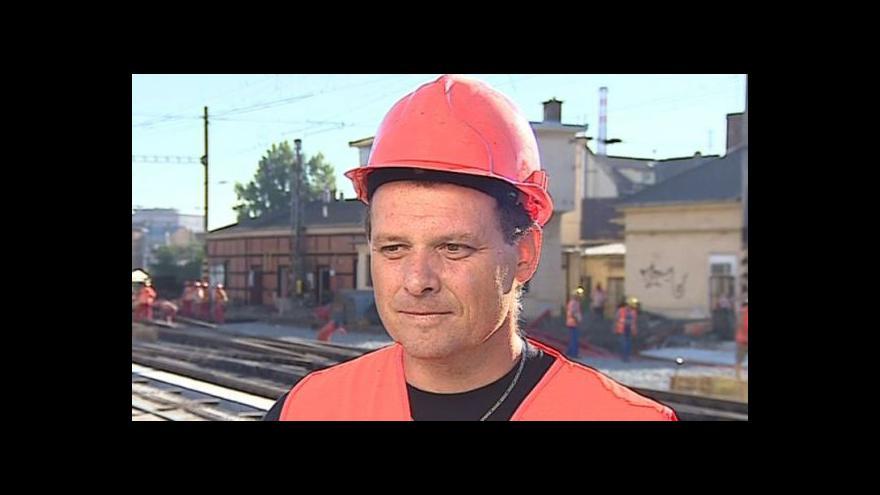 Video Stavbyvedoucí Martin Pliška k opravě viaduktu