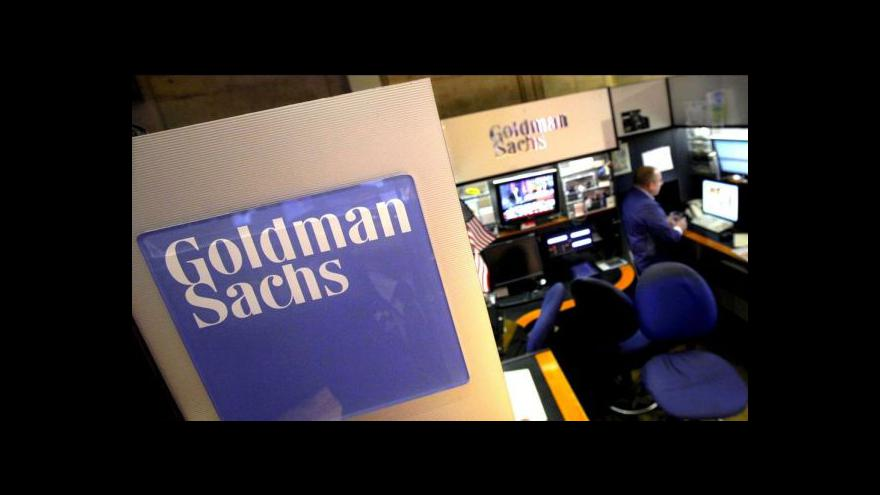 Video Tourre z Goldman Sachs se podle poroty dopustil podvodu