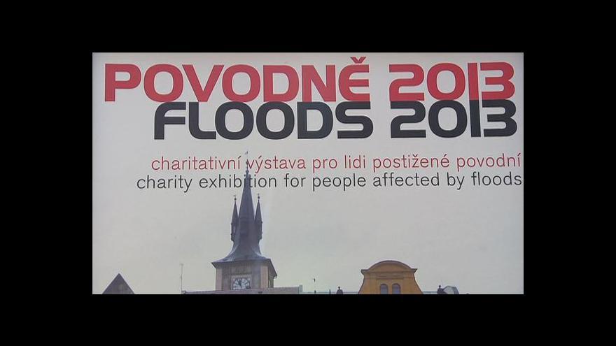 Video Povodňová výstava na Kampě