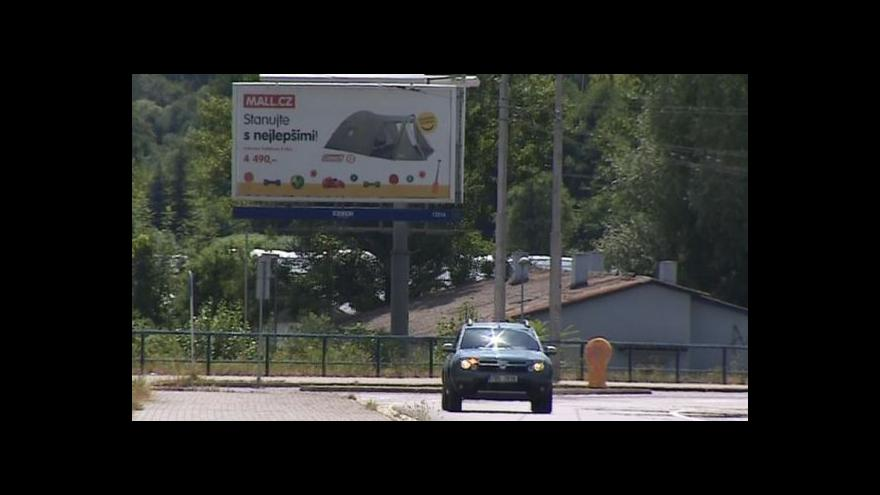 Video Téma billboardů u silnic v UVR