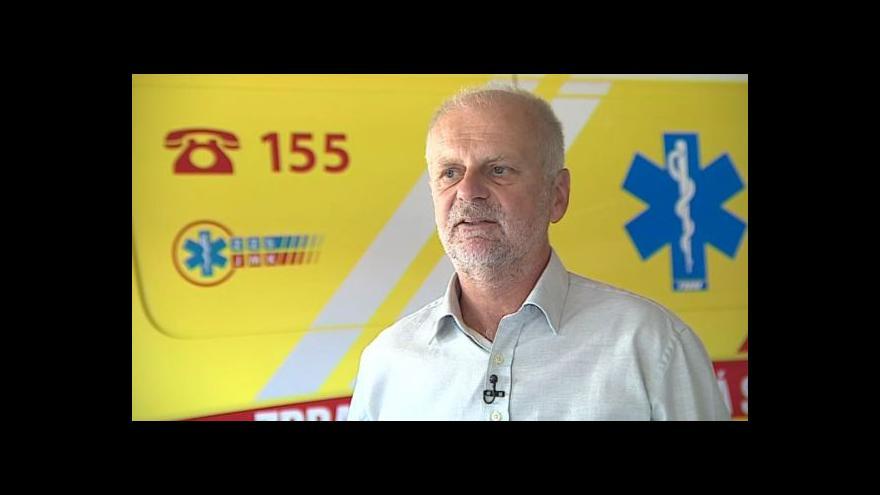 Video Hovoří ředitel jihomoravské záchranky Milan Klusák