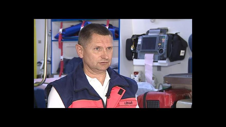 Video Hovoří lékař jihomoravské záchranky Rudolf Zvolánek