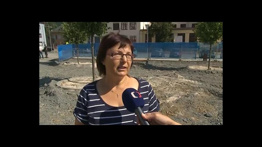 Video O náměstí hovoří starostka Vsetína Iveta Táborská (ODS)