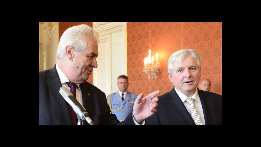 Video Reportáž o vládních vyjednáváních