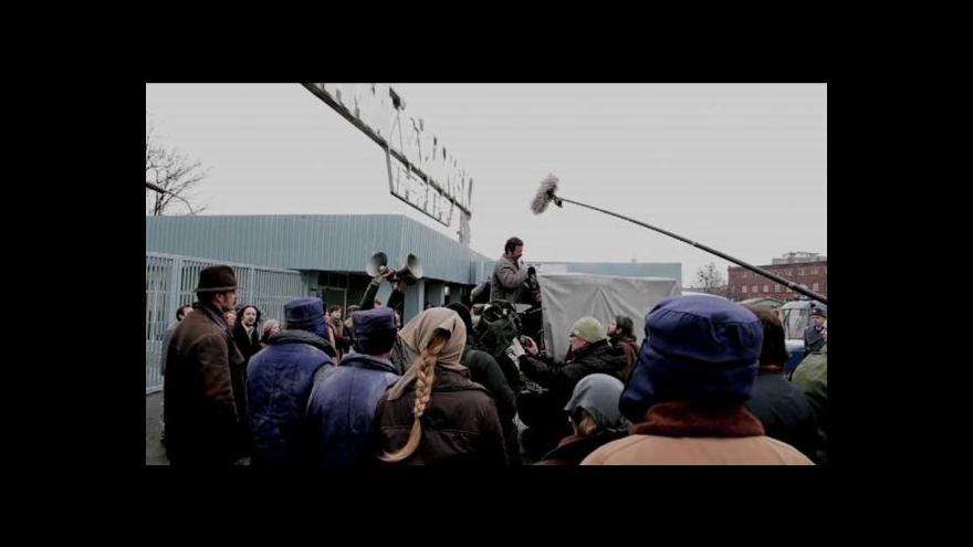 Video Reportáž Josefa Pazderky o filmu