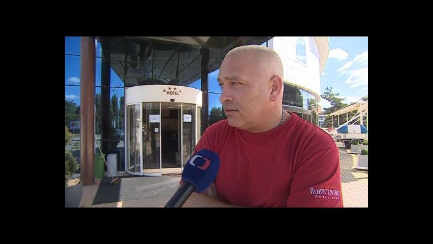 Video Hovoří technik hotelu Bobycentrum Václav Krejčí