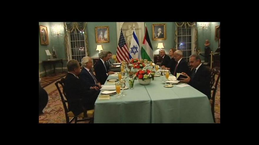 Video Izrael a Palestina obnovily přímá jednání