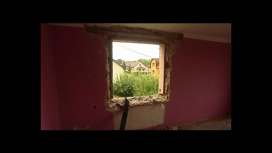 Video Pozastavení demolice domů v Karviné